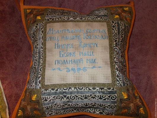 Текстиль, ковры ручной работы. Ярмарка Мастеров - ручная работа. Купить Подушка интерьерная , авторский дизайн,. Handmade. Эксклюзивный подарок