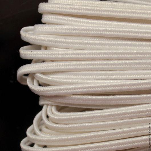 Для украшений ручной работы. Ярмарка Мастеров - ручная работа. Купить Сутаж белорусский 2,5мм белый. Handmade. Сутаж