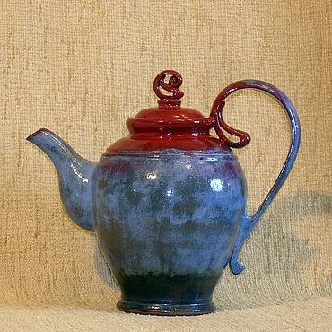 """Посуда ручной работы. Ярмарка Мастеров - ручная работа Чайник """"красная шапочка"""". Handmade."""