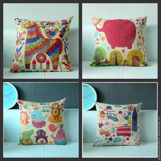 Коллекция подушек для детской комнаты
