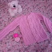 Одежда ручной работы. Ярмарка Мастеров - ручная работа Кардиган для маленькой модницы. Handmade.