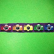 "Bead bracelet handmade. Livemaster - original item Fenichka from the mulina ""Camera"". Handmade."