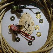 Оберег ручной работы. Ярмарка Мастеров - ручная работа Оберег для дома кузя. Handmade.