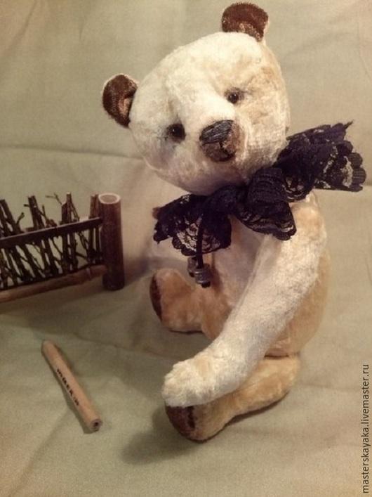 Мишки Тедди ручной работы. Ярмарка Мастеров - ручная работа. Купить Юный  Джандуйя. Handmade. Золотой, орехи, тедди