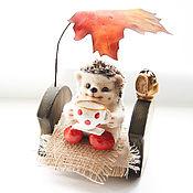 Куклы и игрушки handmade. Livemaster - original item hedgehog Fyodor. Fulled (felted) wool.. Handmade.