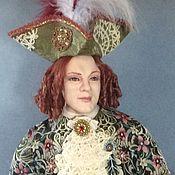 Куклы и пупсы ручной работы. Ярмарка Мастеров - ручная работа Интерьерная кукла. Блистательный венецианец. Handmade.
