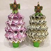 Подарки к праздникам ручной работы. Ярмарка Мастеров - ручная работа Денежное дерево/елочка. Handmade.
