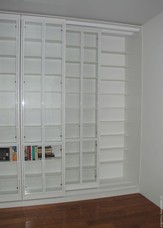 Раздвижная библиотека - москва - мебель для дома.