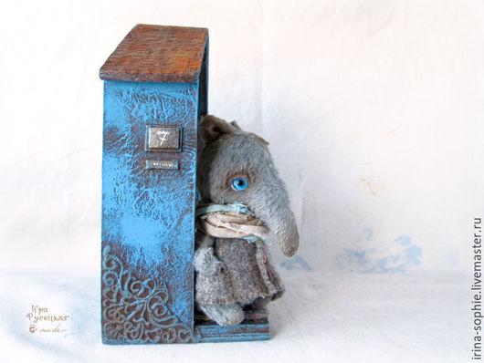 Кукольный дом ручной работы. Ярмарка Мастеров - ручная работа. Купить Дом №7. Для мишек Тедди.. Handmade. Разноцветный