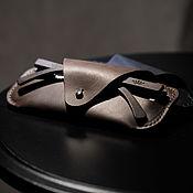 Сумки и аксессуары handmade. Livemaster - original item Eyeglass case made of genuine leather, stylish glasses case, hand stitch. Handmade.