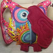 Куклы и игрушки handmade. Livemaster - original item Sovushka - pillow