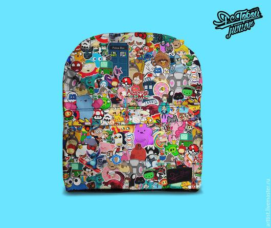 Рюкзаки ручной работы. Ярмарка Мастеров - ручная работа. Купить Яркий детский рюкзак 2+. Handmade. Разноцветный, рюкзак