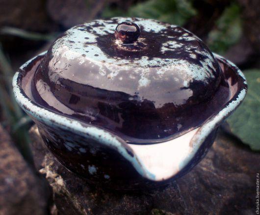 Кружки и чашки ручной работы. Ярмарка Мастеров - ручная работа. Купить Bowl with lid. Handmade. Комбинированный, заварник, чайник