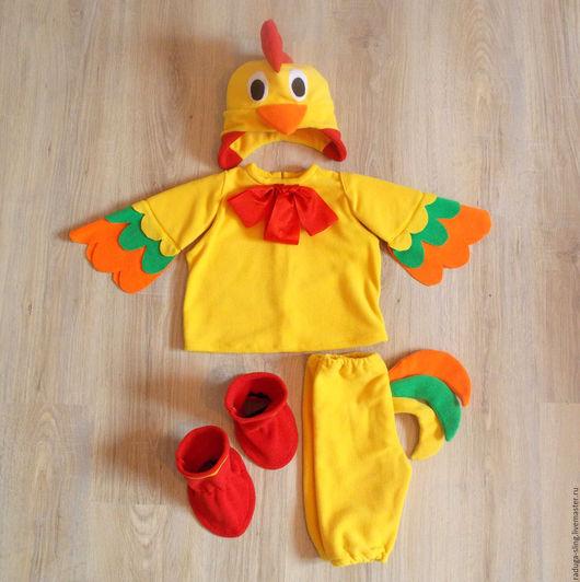 Карнавальные костюмы ручной работы. Ярмарка Мастеров - ручная работа. Купить Новогодний костюм для мальчика Петушок. Handmade. Костюм петушка