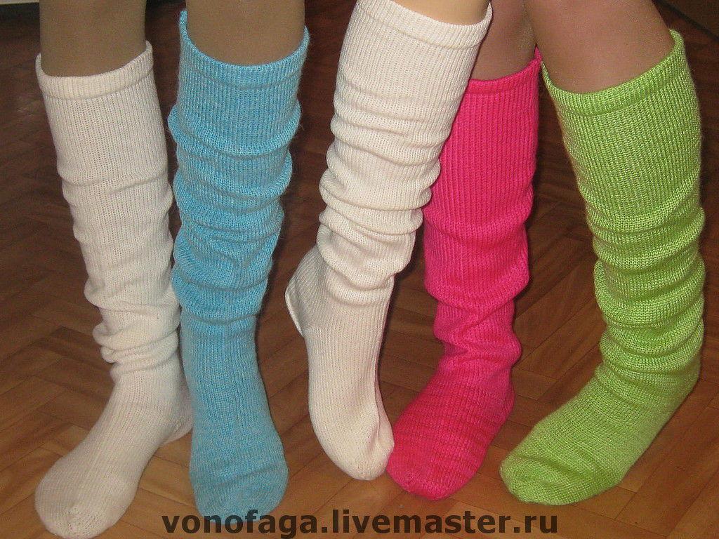 Продать вязаные носки ручной работы