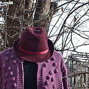 """Одежда ручной работы. Ярмарка Мастеров - ручная работа Кардиган вязаный """"Вереск"""". Handmade."""