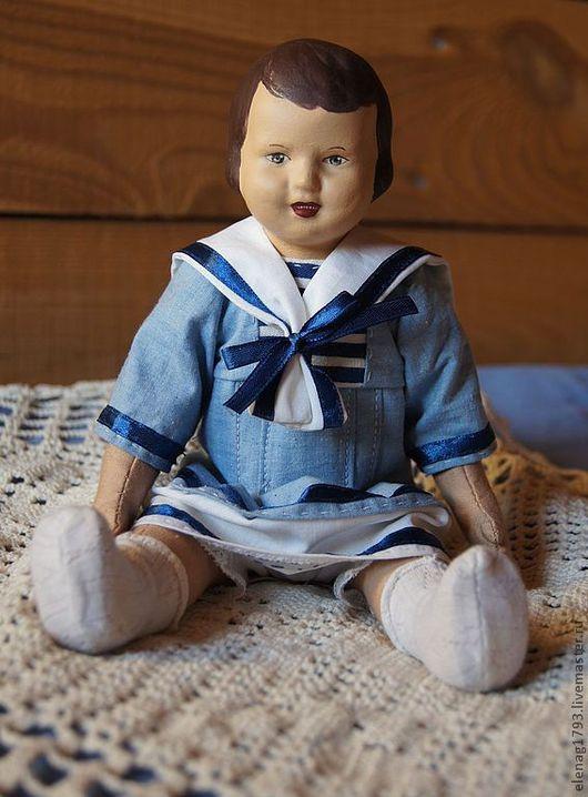 Коллекционные куклы ручной работы. Ярмарка Мастеров - ручная работа. Купить куколка Светлана.. Handmade. Голубой, кукла в подарок