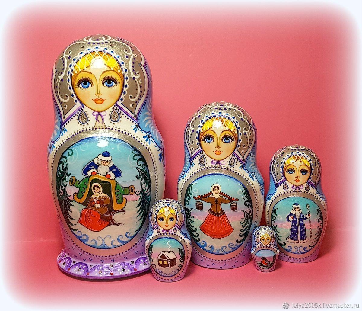 """Матрёшка""""Морозко"""" 5 мест, Матрешки, Кострома, Фото №1"""