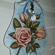 """Вешалки ручной работы. Ярмарка Мастеров - ручная работа Вешалка """"Роза во льду"""". Handmade."""