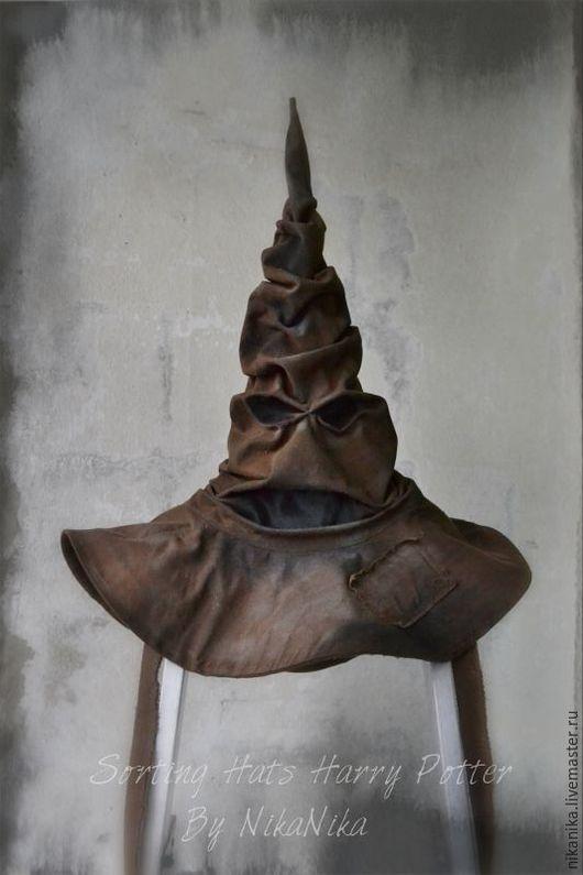 Шляпы ручной работы. Ярмарка Мастеров - ручная работа. Купить Распределяющая шляпа (Гарри  Поттер) Сортировочная шляпа. Sorting hat.. Handmade.