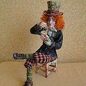 """Куклы и игрушки ручной работы. Ярмарка Мастеров - ручная работа авторская кукла """"Шляпник"""". Handmade."""