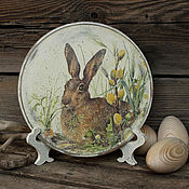 Посуда handmade. Livemaster - original item Plate wooden