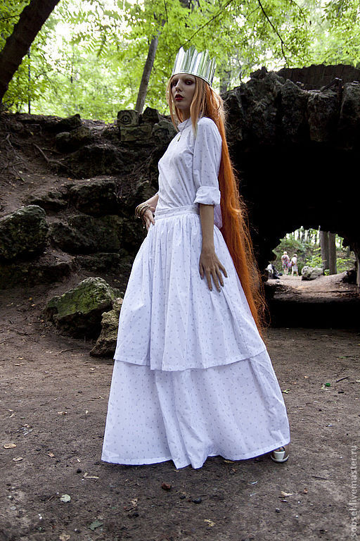 """Юбки ручной работы. Ярмарка Мастеров - ручная работа. Купить Юбка """"Ярусы"""". Handmade. Белый, юбка, мода, красота, хлопок"""
