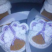 Обувь ручной работы handmade. Livemaster - original item Sandals Butterfly. Handmade.