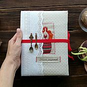 Канцелярские товары handmade. Livemaster - original item Cookbook. Handmade.