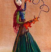 """Куклы и игрушки ручной работы. Ярмарка Мастеров - ручная работа """"Осень"""" из коллекции """"Времена года"""". Handmade."""