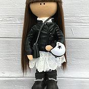 Мягкие игрушки ручной работы. Ярмарка Мастеров - ручная работа Интерьерная Куколка по фотографии. Handmade.