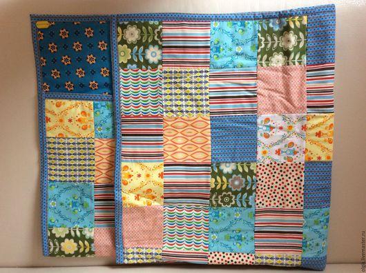 """Пледы и одеяла ручной работы. Ярмарка Мастеров - ручная работа. Купить Детское одеяло """"Синева"""". Handmade. Синий, одеяло"""