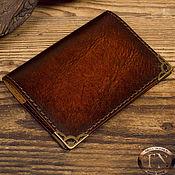Обложки ручной работы. Ярмарка Мастеров - ручная работа Обложка для паспорта, имитированной под старину TNOther69. Handmade.