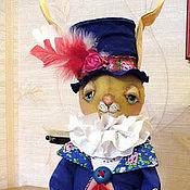 Куклы и игрушки ручной работы. Ярмарка Мастеров - ручная работа Интерьерная кукла Кролик Гораций. Handmade.