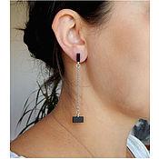 Украшения handmade. Livemaster - original item earrings minimalist. model №4.. Handmade.