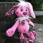 Куклы и игрушки ручной работы. Ярмарка Мастеров - ручная работа Текстильная игрушка Зайка. Handmade.