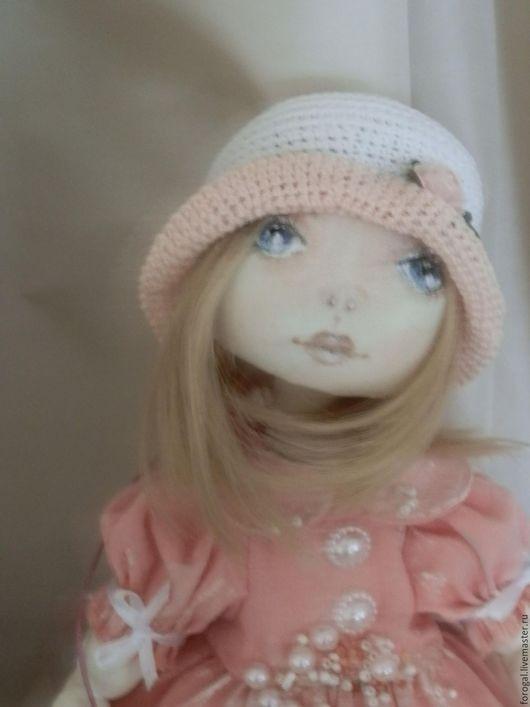 Коллекционные куклы ручной работы. Ярмарка Мастеров - ручная работа. Купить авторская интерьерная текстильная куколка Ася. Handmade. шитьё
