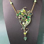 Украшения handmade. Livemaster - original item Pendant Gentle Ghost (green version). Handmade.