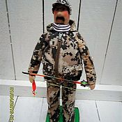 Куклы и игрушки ручной работы. Ярмарка Мастеров - ручная работа кукла тильда текстильная  Рыбак. Handmade.