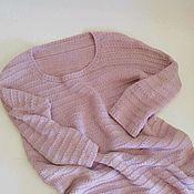 handmade. Livemaster - original item Donner jumper, dusty lilac color. Handmade.
