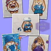 Материалы для творчества handmade. Livemaster - original item Bunny Mi -2. Handmade.