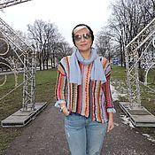 Одежда ручной работы. Ярмарка Мастеров - ручная работа Красивый свитер в стиле Бохо.. Handmade.