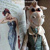 Куклы и игрушки ручной работы. Ярмарка Мастеров - ручная работа Дракоша по имени Рич. Handmade.