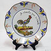 Тарелки винтажные ручной работы. Ярмарка Мастеров - ручная работа 18 век Французская революция Декоративная тарелка. Handmade.
