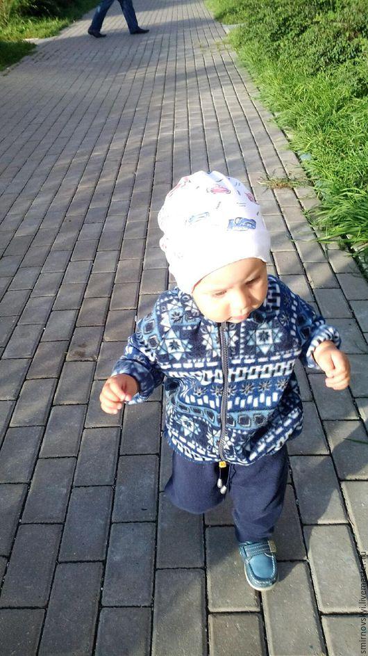 Одежда унисекс ручной работы. Ярмарка Мастеров - ручная работа. Купить Детская флиска. Handmade. Детская одежда, кофта