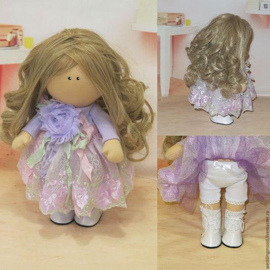 Коллекционные куклы ручной работы. Ярмарка Мастеров - ручная работа. Купить Кукла Ариша. Handmade. Комбинированный, подарок, тильда