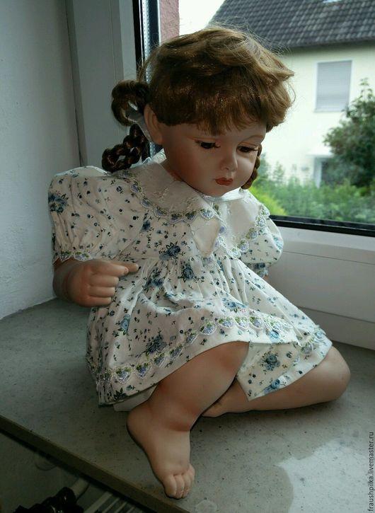 Коллекционные куклы ручной работы. Ярмарка Мастеров - ручная работа. Купить Коллекционная фарфоровая куколка от Gloria Livy. Handmade. Комбинированный