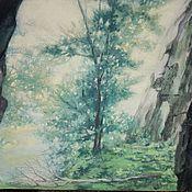 Картины ручной работы. Ярмарка Мастеров - ручная работа Картины: Солнечный туман. Handmade.