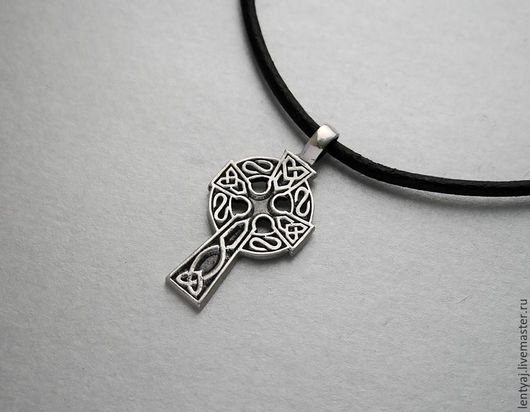 Кулоны, подвески ручной работы. Ярмарка Мастеров - ручная работа. Купить Кельтский крест из серебра 925 пробы. Handmade. Серебряный