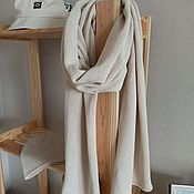 Аксессуары handmade. Livemaster - original item Knitted scarf stole made of cashmere. Handmade.